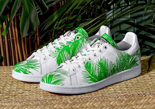 Palm Tree Prints Land on Pharrell's Latest adidas Originals Collaboration