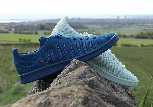 Adidas Stan Smith Primeknit Blue