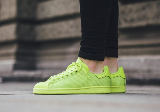 "adidas Stan Smiths Look To Dominate Another With ""Solar Yellow"""