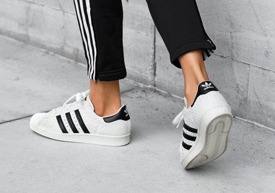 The adidas Superstar Gets A Premium Snakeskin Makeover Just For Women