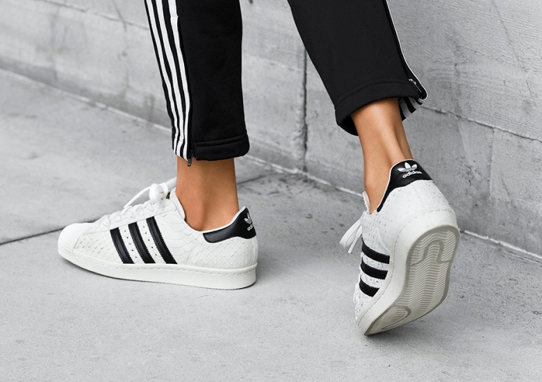 250867d177ce The adidas Superstar Gets A Premium Snakeskin Makeover Just For Women