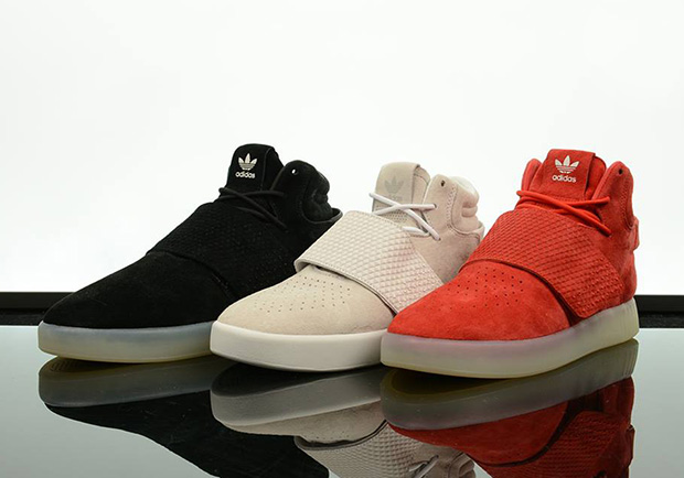 6bd432205a8f The adidas Tubular Invader Strap Brings In Yeezy Boost Elements