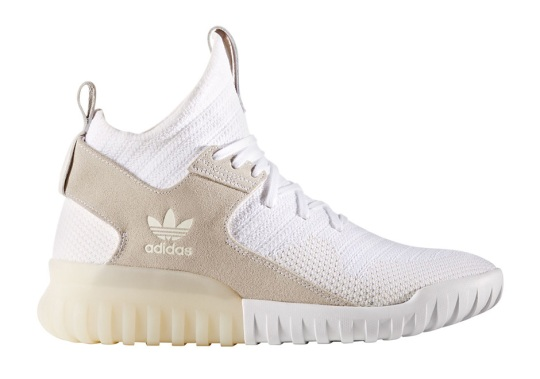 The adidas Tubular X Primeknit Is Returning Soon In White And Tan