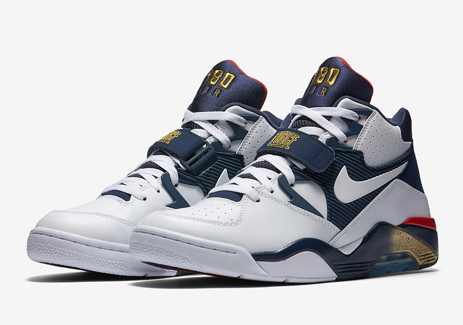 "premium selection daf81 9d5af Nike Air Force 180 ""Olympic"""