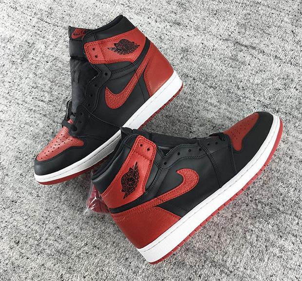 Air Jordan 1 Black Red 2016 Release Info | SneakerNews.com