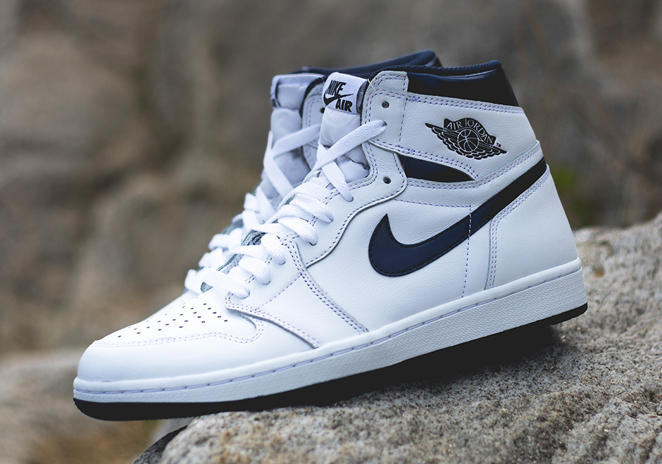Air Jordan Retro 1 Haute Marine
