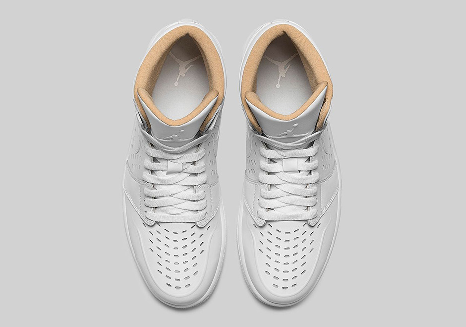 cb6a94cda7f Air Jordan 1 Retro High. Color  White Vachetta Tan Black Style Code  845018- 142. Release Date  July 9