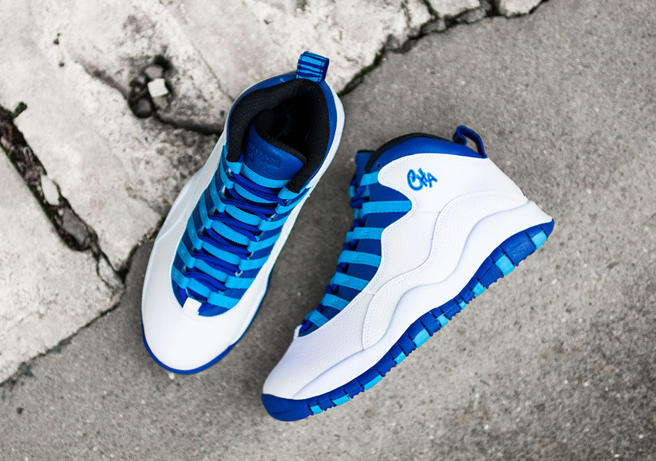 detailed look 549f4 5bc9f Air Jordan 10 Charlotte City Pack Release Date   SneakerNews.com