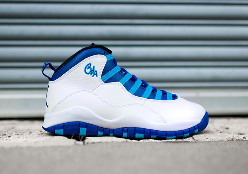 blue jordan 10