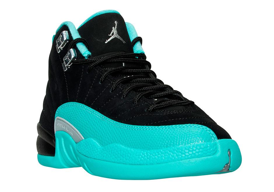 924e8318fab201 Air Jordan 12 Hyper Jade Release Date 510815-017