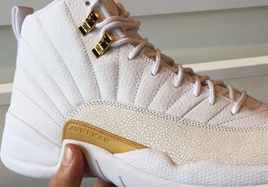 "The Air Jordan 12 ""OVO"" Is Releasing This Summer"