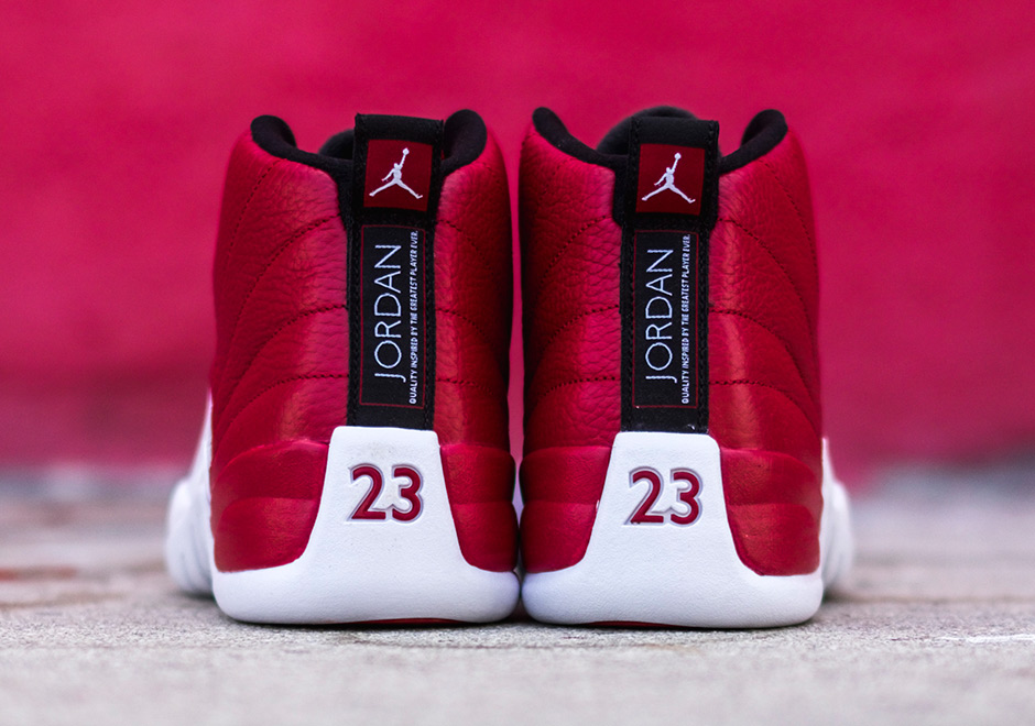 outlet store 21716 fb10c Air Jordan 12 Gym Red Release Info 130690-600   SneakerNews.com