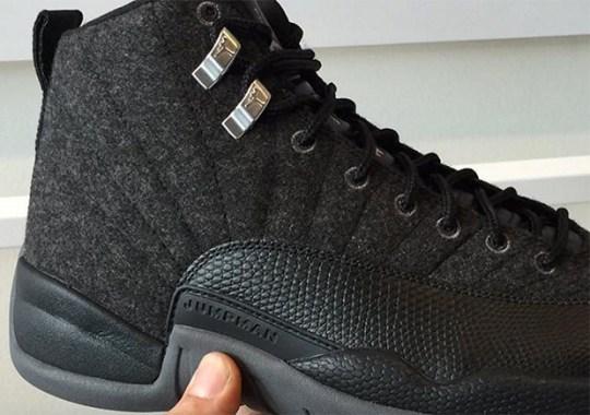 "First Look At The Air Jordan 12 ""Wool"""