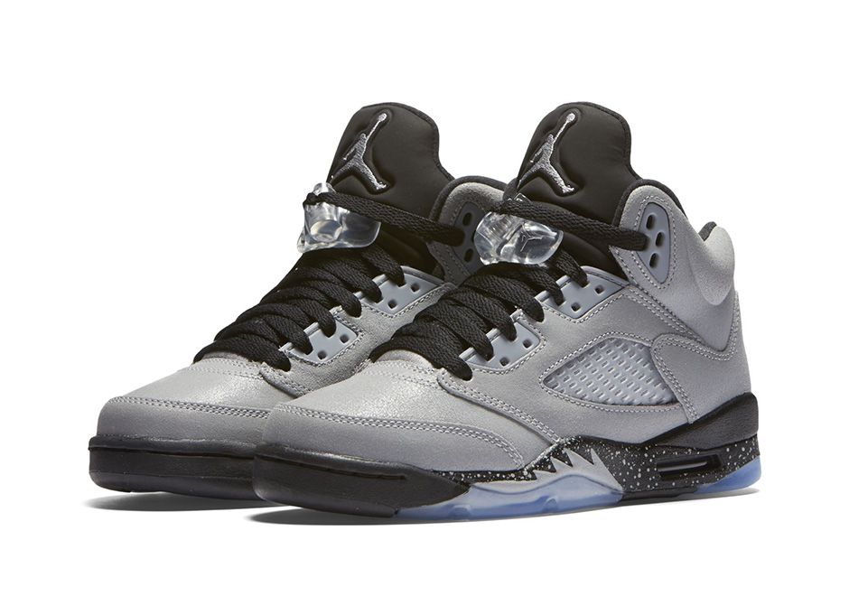 Image result for air jordan 5 gs wolf grey