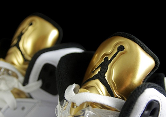 """The Gold-Tongued Air Jordan 5 """"Olympic"""" Releases In August"""