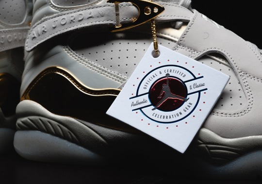 "Release Info For The Air Jordan 8 ""Championship"" Pack"