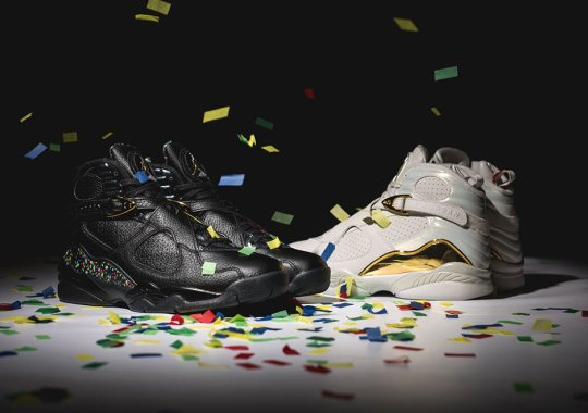 Start Celebrating With the Air Jordan 8 Championship Pack Tomorrow
