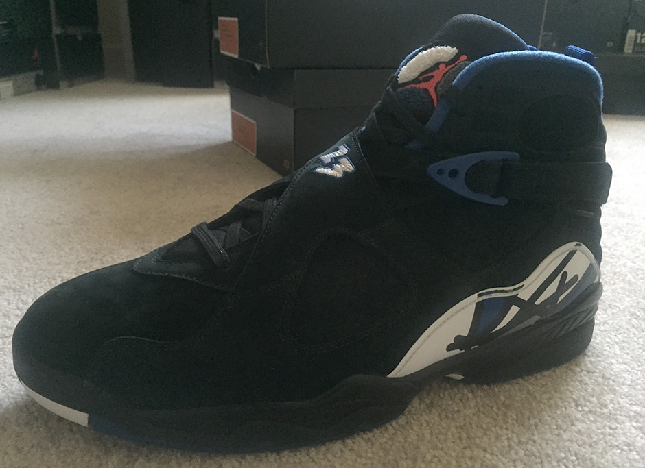all black jordan 8