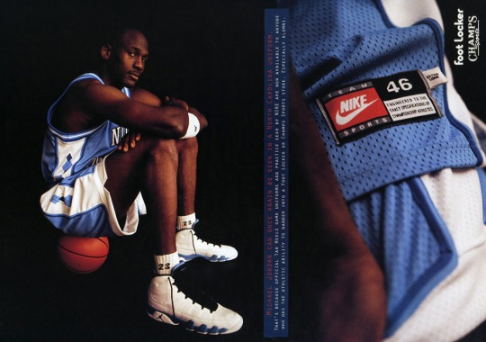 Is This Air Jordan 9 Low Inspired By This Ad From 1994?
