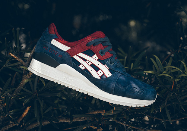 reputable site 30b30 2a4db Asics GEL-Lyte III Indiana Ink/Maroon Suede| SneakerNews.com