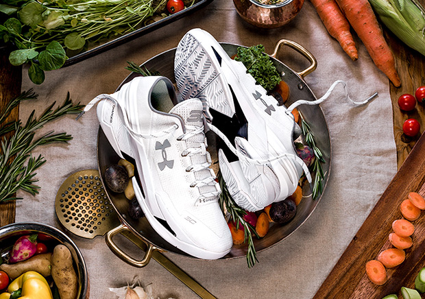 "Under Armour Is Releasing A ""Chef Curry"" Shoe"