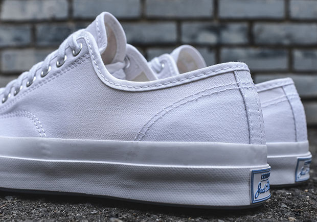 Converse Jack Purcell White Canvas Sneakernews Com