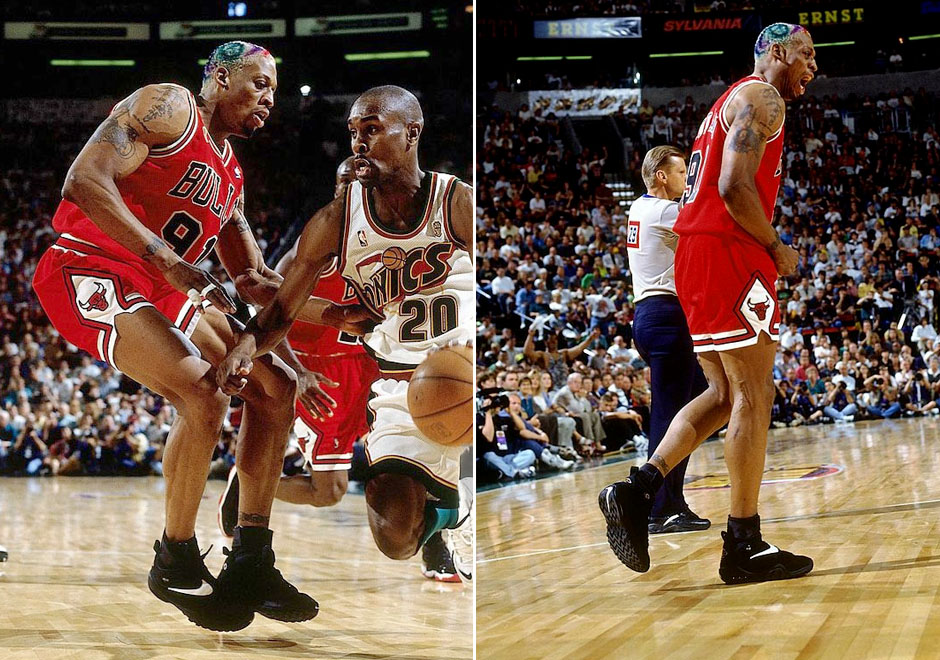 Flashback to '96: NBA Finals Sneakers of the Chicago Bulls