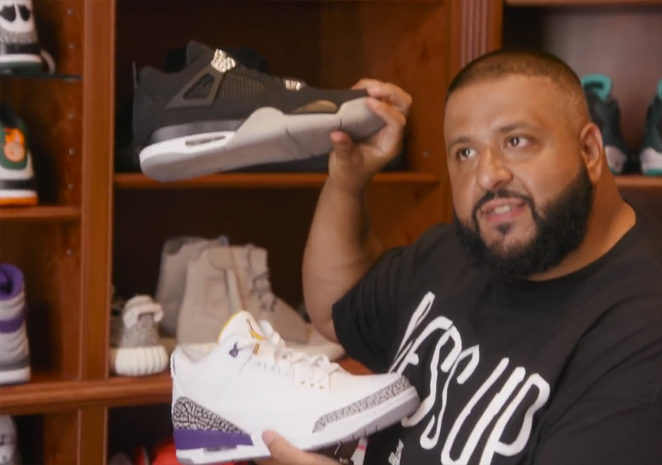 DJ Khaled Explains His Expensive Sneaker Collection To Someone Who Doesnt Know About Sneakers