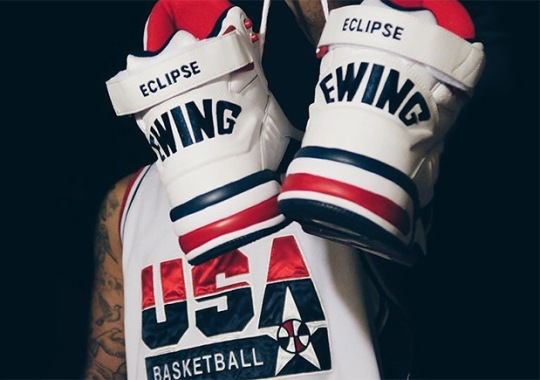 Ewing Athletics Is Re-releasing Patrick's Dream Team Shoes