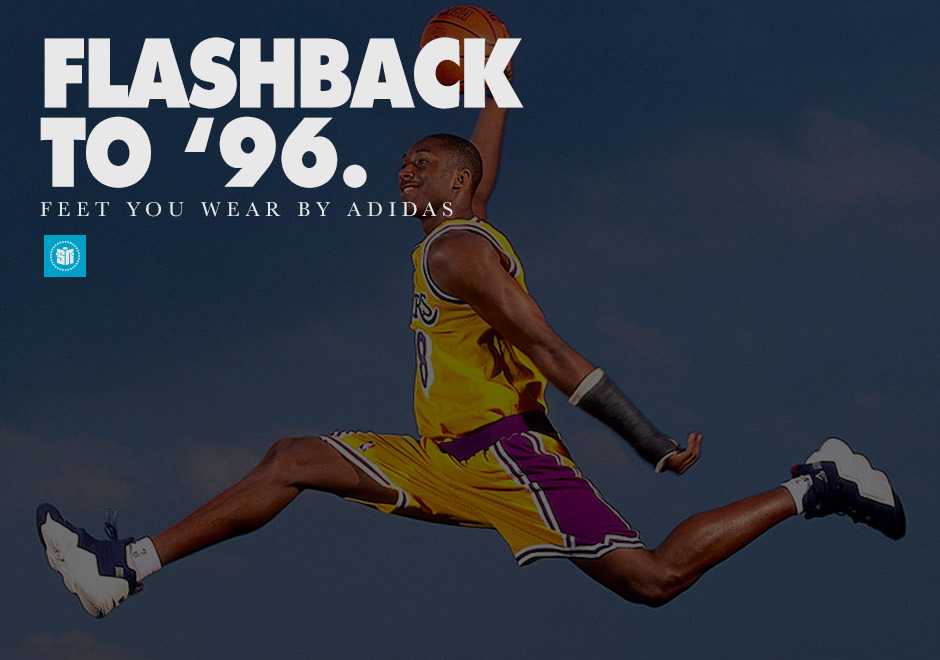best service bae6e d4a26 Flashback to 96 The Birth of adidas Feet You Wear Technology