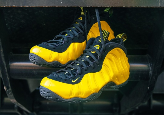 "Nike Foamposites Make A Comeback With ""Optic Yellow"""
