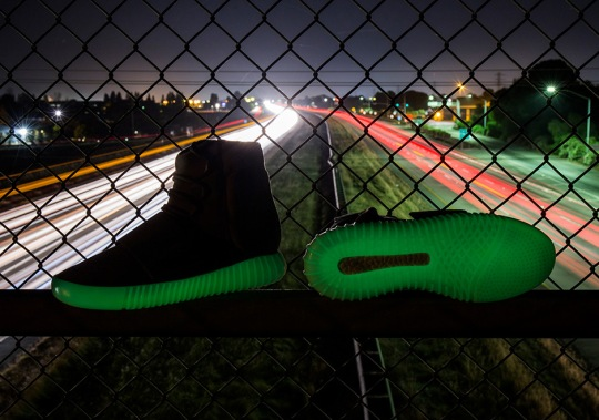 Best Look Yet At The Glow-In-The-Dark adidas Yeezy Boost 750