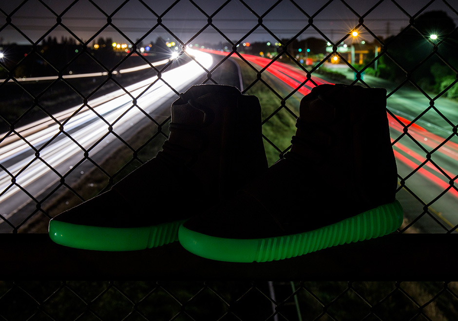 "fff88b3ef ADIDAS YEEZY 750 BOOST ""GLOW IN THE DARK"""