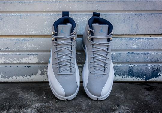 "The Air Jordan 12 Retro ""UNC"" Releases This Weekend"