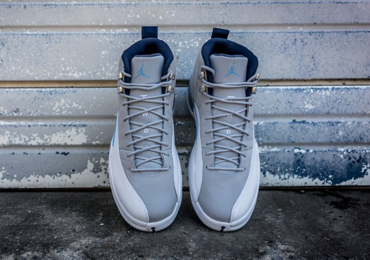 "The Air Jordan 12 Retro ""UNC"" Releases This Weekend"