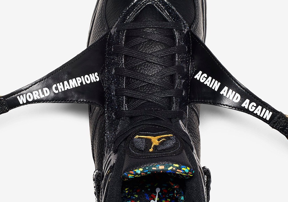"on sale 1b861 ce2cb There s A Hidden Detail Under Straps On The Air Jordan 8 ""Championship"" Pack"