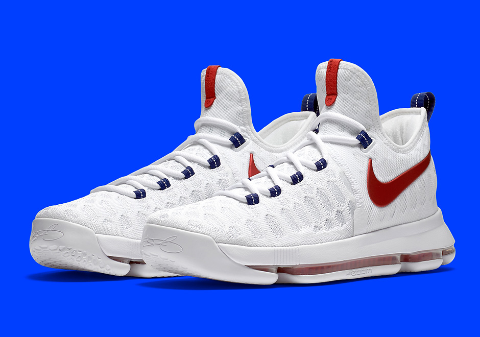 "best sneakers ff7ff 5de34 Nike KD 9 ""USA"" Releases On July 1st"