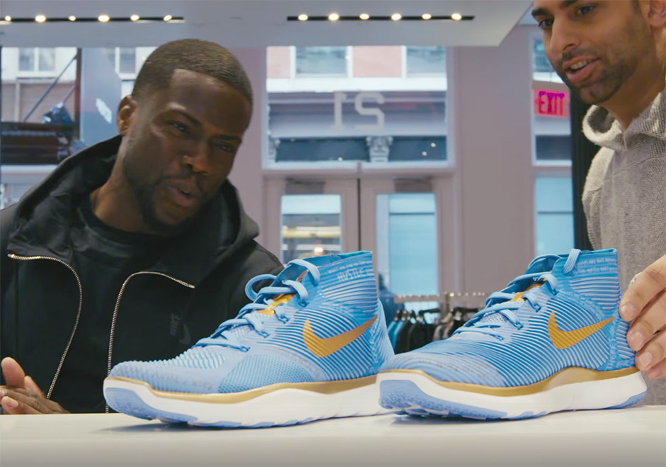 low priced e779a 3b313 Kevin Hart Grew Up Working In Sneakers Stores, Says He Was The Best Salesman