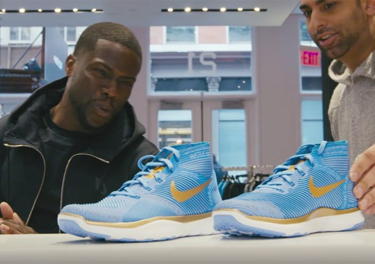 Kevin Hart Grew Up Working In Sneakers Stores, Says He Was The Best Salesman