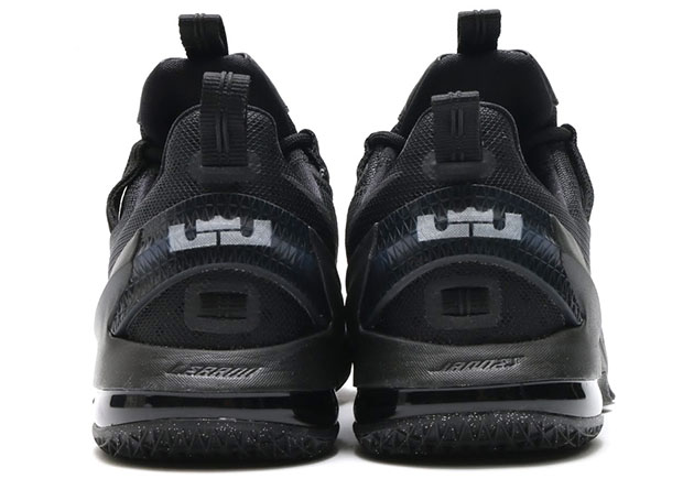 best sneakers fd5cc 5d57c Nike LeBron 13 Low Triple Black 831926-001   SneakerNews.com
