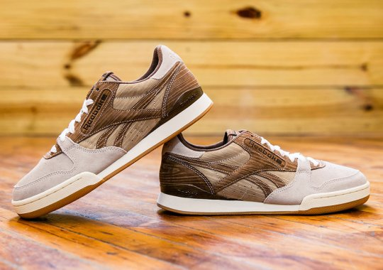 """The """"Wooden"""" mita x Reebok Phase 1 Pro Collab Is Available Now"""
