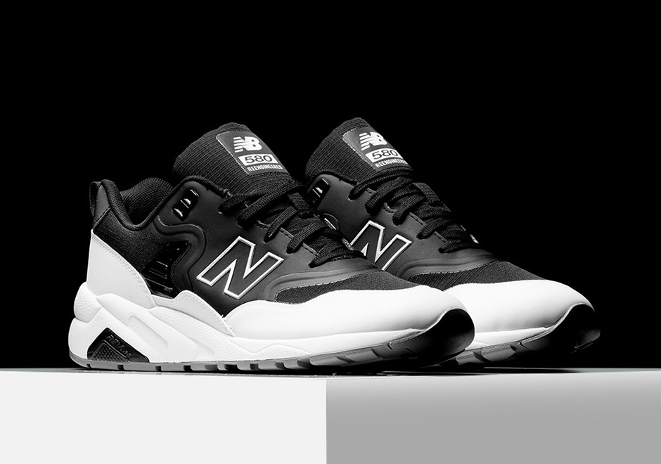 the re engineered new balance 580 gets a tuxedo colorway. Black Bedroom Furniture Sets. Home Design Ideas