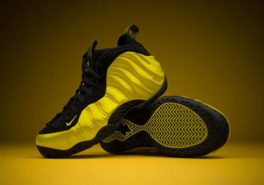 "Nike Air Foamposite One ""Optic Yellow"" Releases This Weekend"