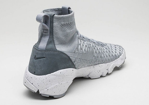 Nike Air Footscape Magista Flyknit. Color  Wolf Grey Wolf Grey-Cool Grey-Hyper  Orange Style Code  816560-005. Price   200. show comments 9ea24c6a7be3