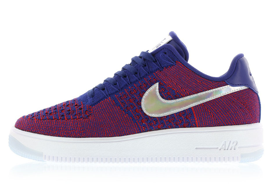 7bad4947979 Nike Air Force 1 Flyknit Low USA 826577-601 | SneakerNews.com