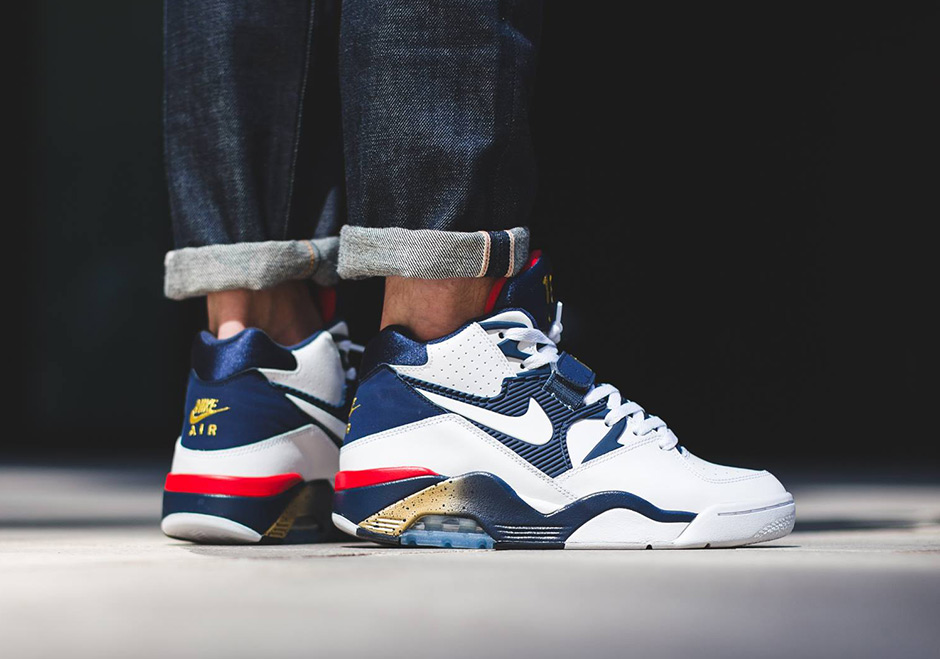 "sports shoes daf8f 9726b The Nike Air Force 180 ""Olympic"" Is Releasing Soon"