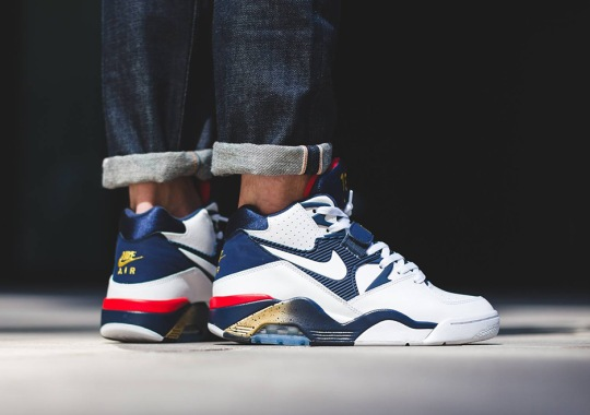 "The Nike Air Force 180 ""Olympic"" Is Releasing Soon"