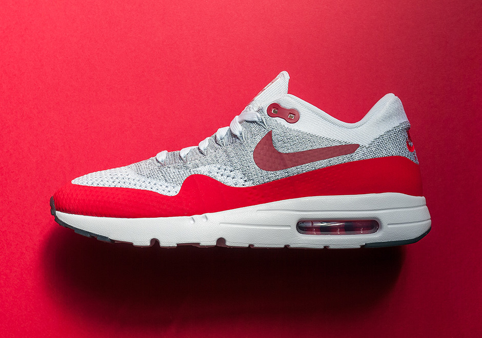 Nike Air Max 1 Flyknit Red