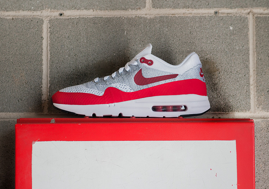 reputable site 9a907 12b78 Nike Air Max 1 Flyknit OG Sport Red Release Date ...