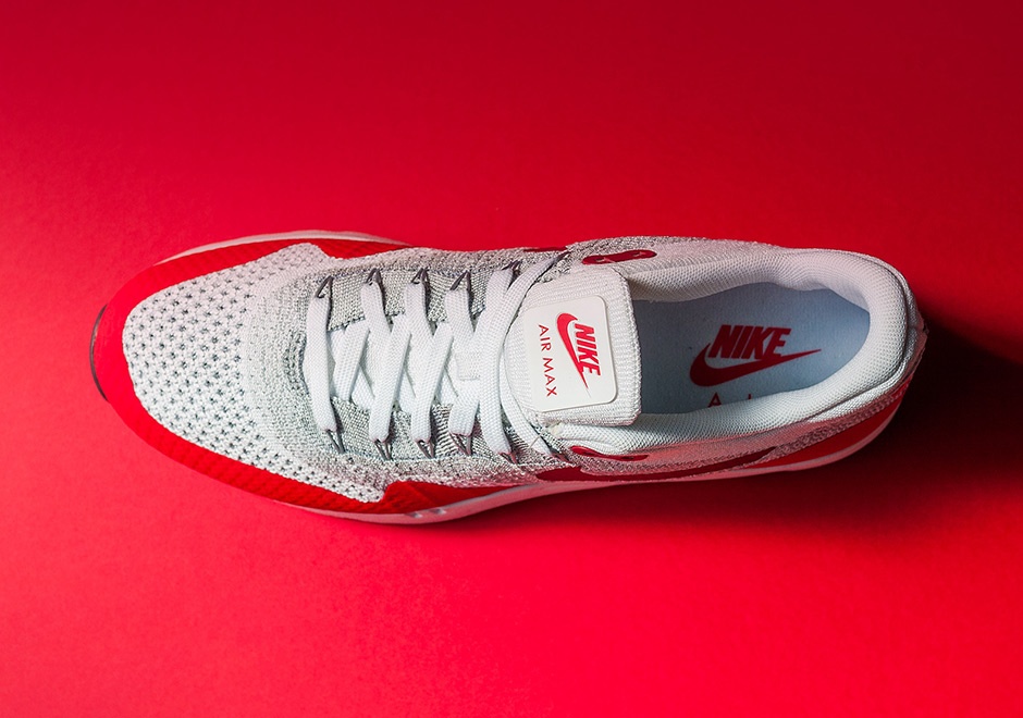 9c166c7cca42 Nike Air Max 1 Flyknit OG Sport Red Release Date